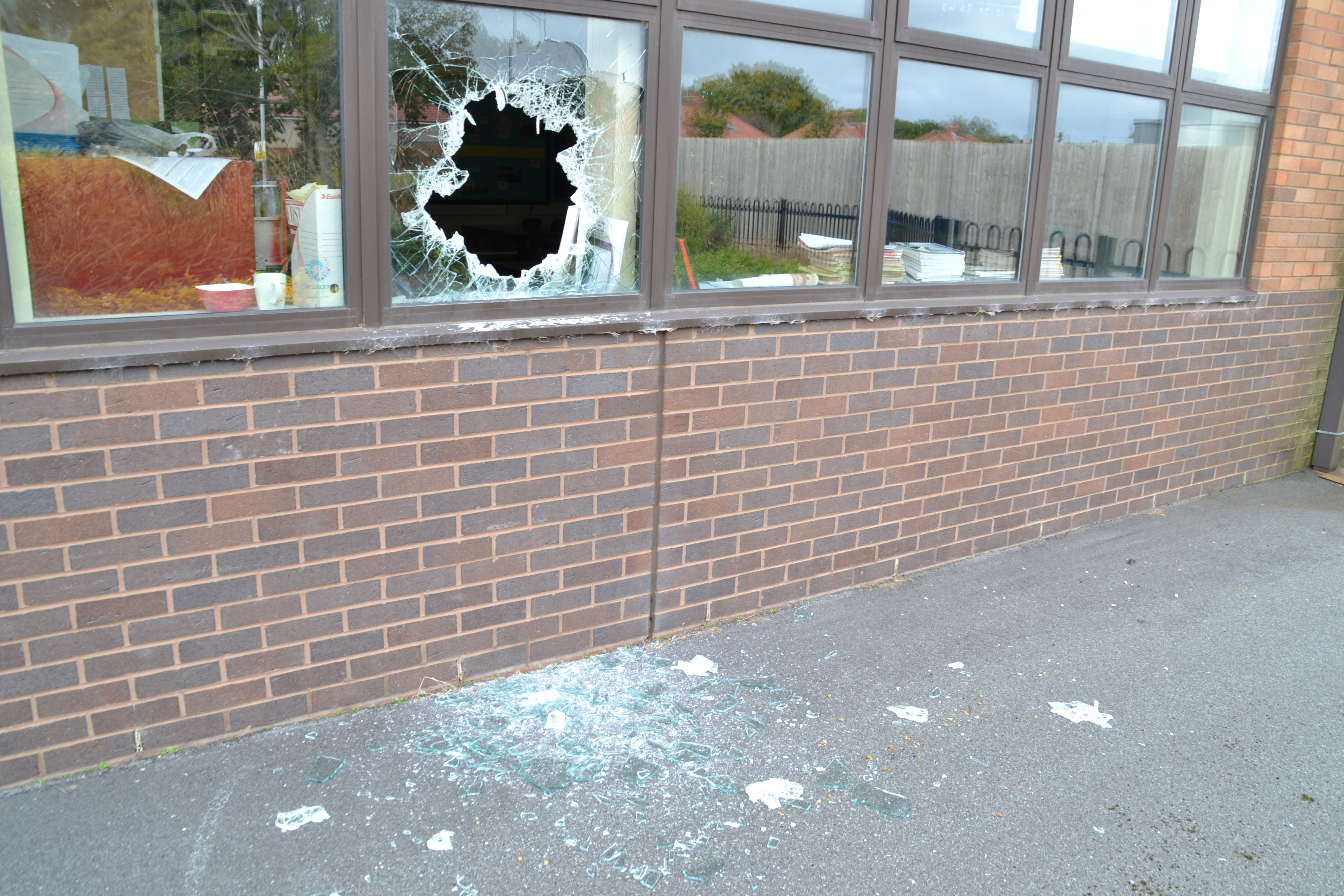 Heworth School damage