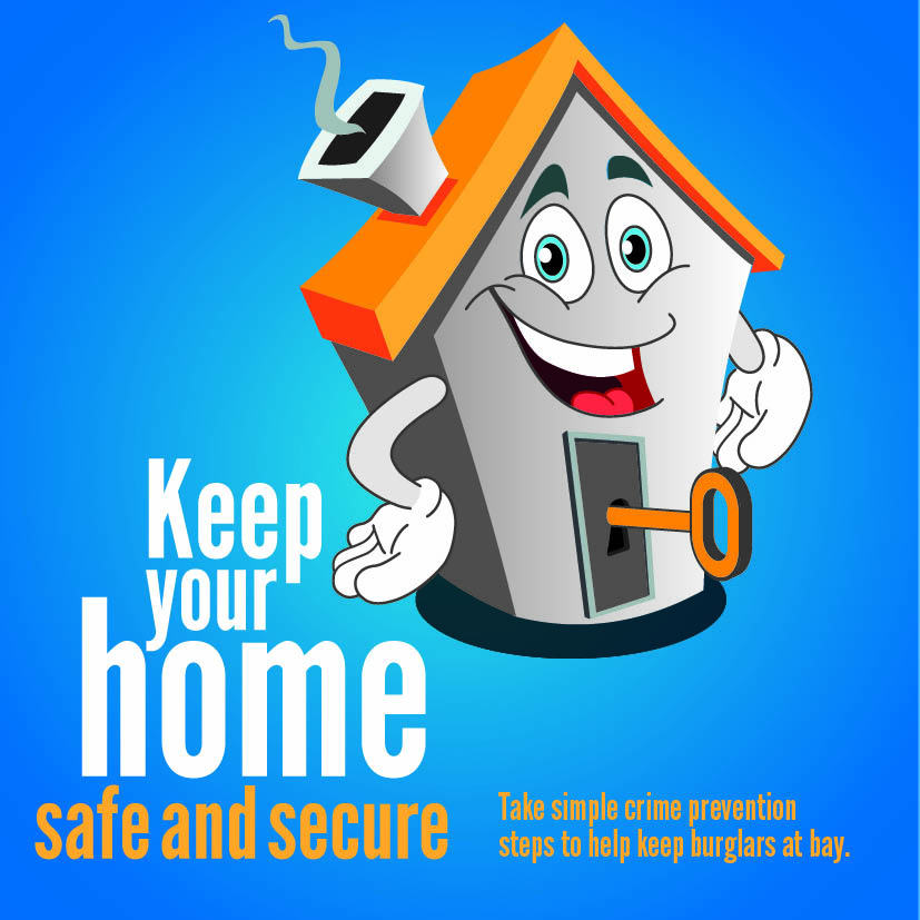 1754_Keep your home safe and secure - Burglary - Social Media image