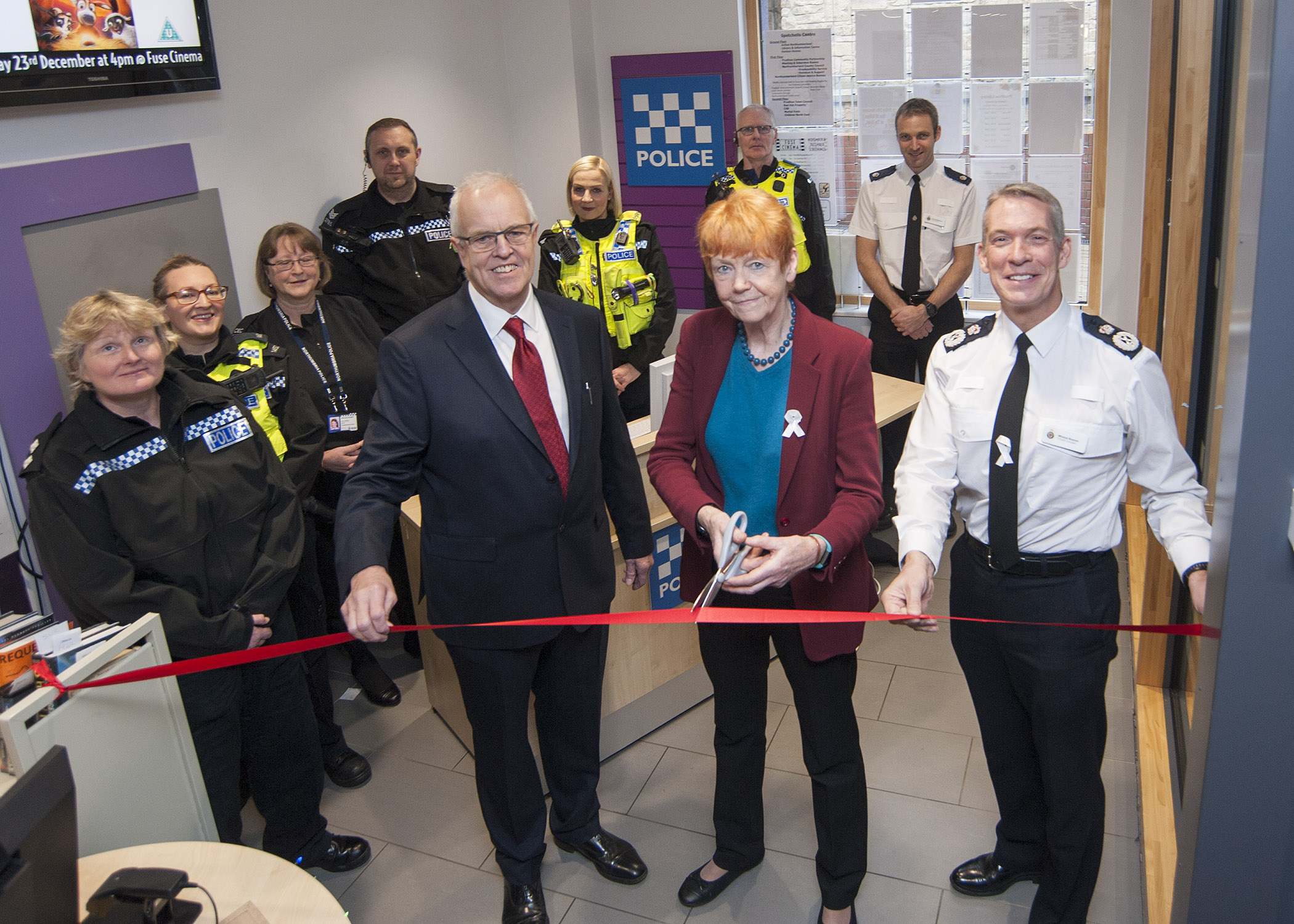 New police base opens in Prudhoe