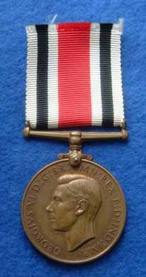 George vi Specials medal