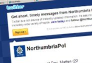 Recieve Northumbria Police Tweets