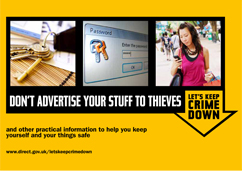 Download practical information to keep yourself and your belongings safe.