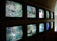 An image of CCTV screens