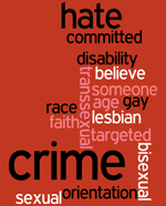 Hate crime wordle