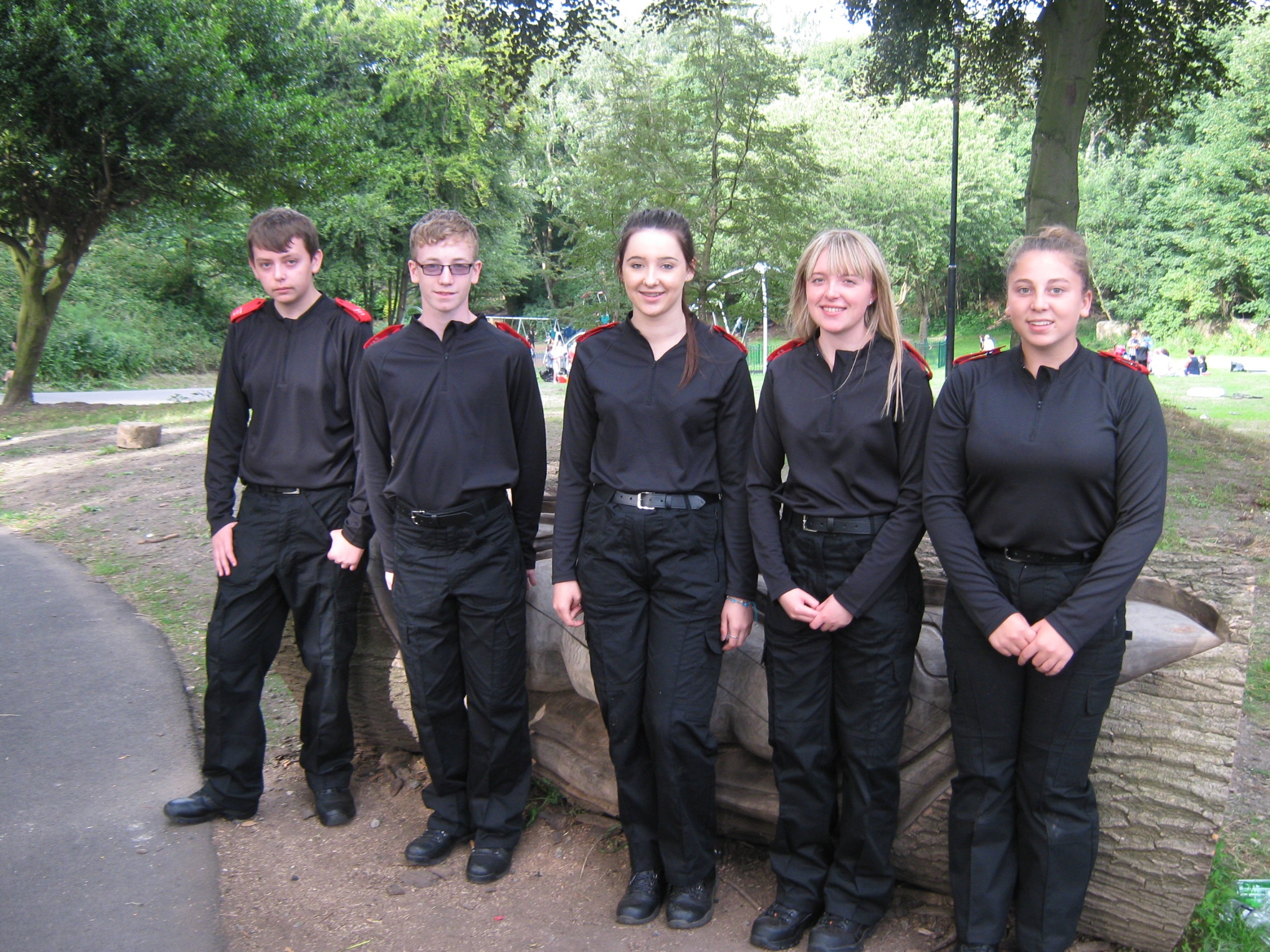 Cadets help with park festival