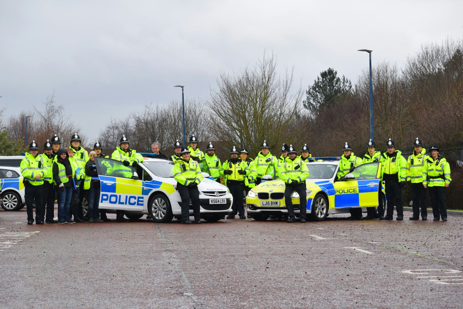 Special Constables during the operation