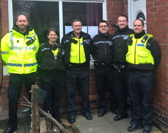 Officers issue Closure Order in Ashington